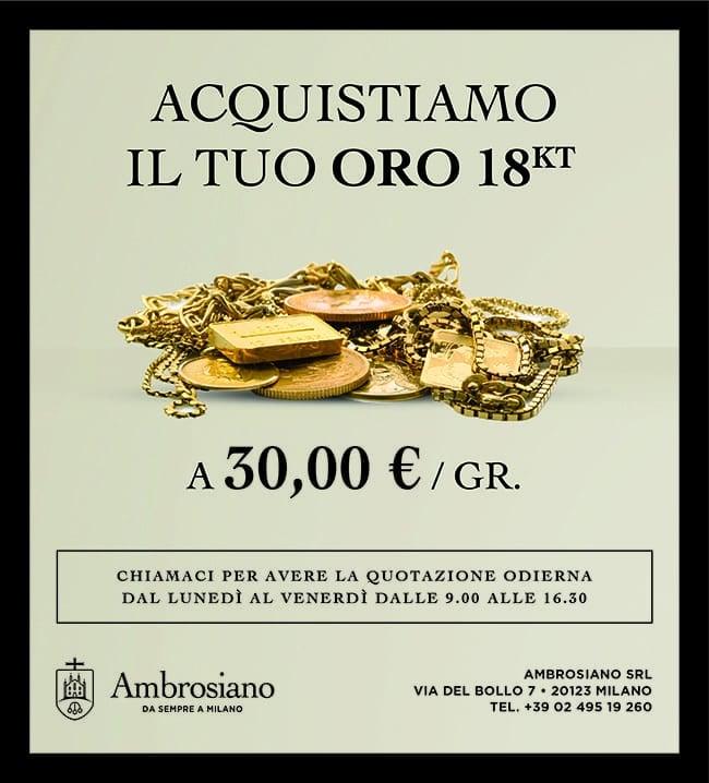 Compro Oro, Argento, Orologi di Lusso, Monete a Milano - Ambrosiano Srl